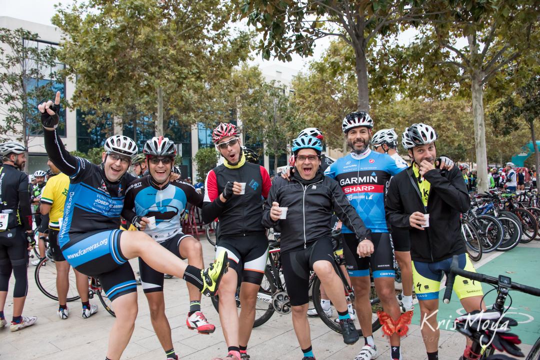 marcha cicloturista solidaria velo